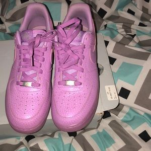 Pink/purple Air Force 1s